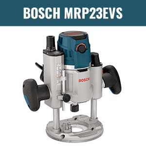 Bosch Mrp23evs Electronic Plunge Base Router In 2020 Plunge Router Router Router Reviews