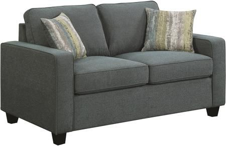 Brownswood Collection 506522 62 Loveseat With Removable Cushions