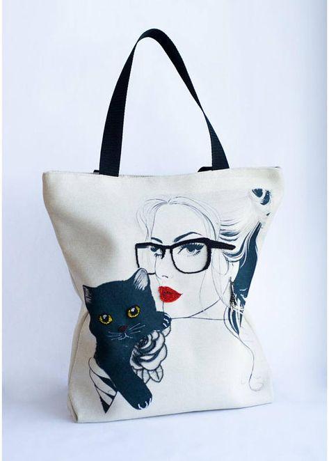 shoulderbag canvas tote bag for women...