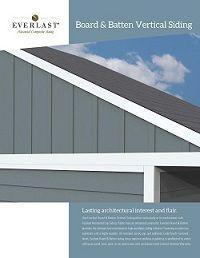 Everlast Composite Siding Gentek Building Products In 2020 Composite Siding Vertical Siding Siding