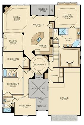 Marseille New Home Plan In Falls At Imperial Oaks Cambridge And Provence Collections By Lennar New House Plans House Plans How To Plan