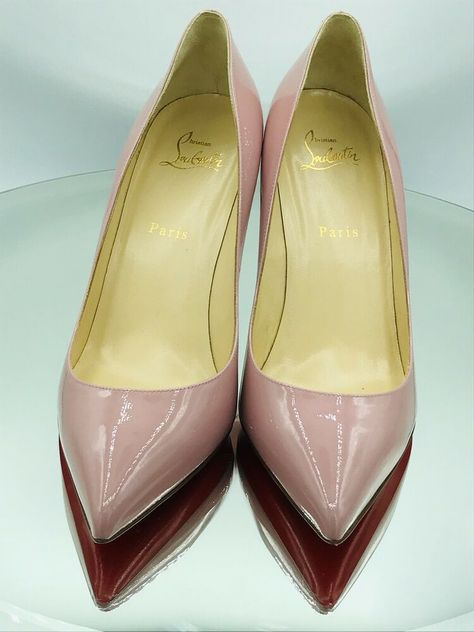 d6c23701bcf3 ENDING SOON  Christian Louboutin Pigalle Follies Pink 85mm Pumps Heels Size  41  shoes  designer