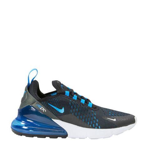 air max blauw zwart