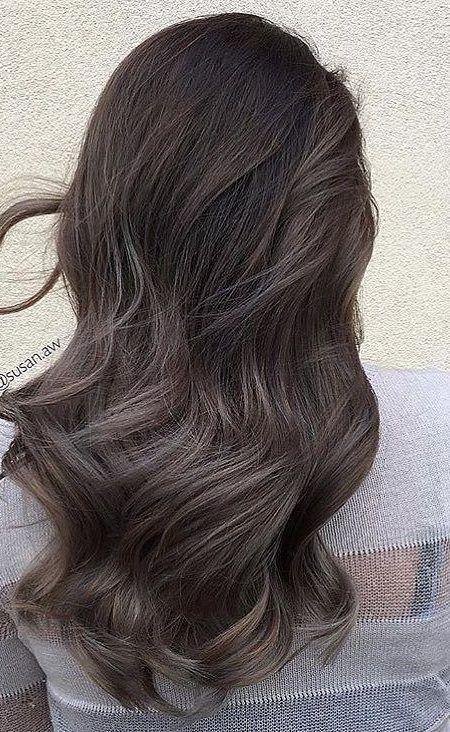 Ash Brown Hair Color For Cool Tones Ash Brown Hair Color Ash Hair Color Brunette Hair Color