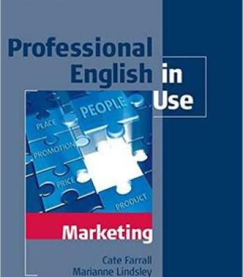 Professional English In Use Marketing With Answers Pdf Marketing Professional English For Students Marketing