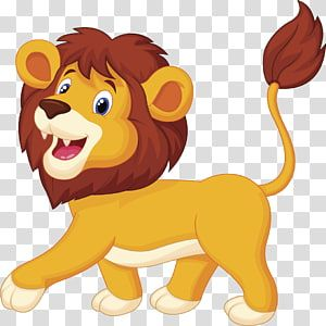 Lion Cartoon Animation Lion Lion Transparent Background Png Clipart Cartoon Lion Lion Illustration Tiger Illustration