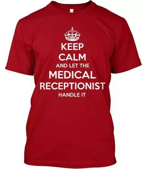 Medical receptionist Funnies Pinterest Medical receptionist - medical receptionist