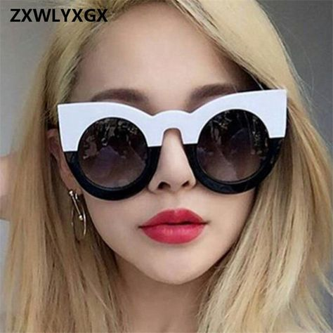 ZXWLYXGX 2018 New Retro Goggles Sunglasses Women Brand Designer Vintage Cat  Eye Black Sun Glasses Ladies Lady UV400. Yesterday s price  US  4.92 (4.29  EUR). 724ef4beb4a2