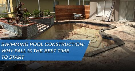 Swimming Pool Construction: Why Fall is the Best Time