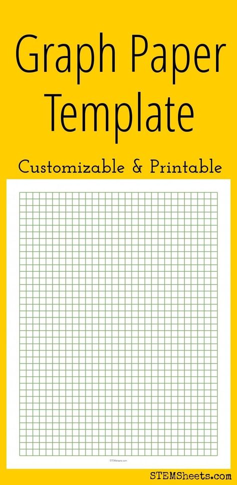 Printable Graph Paper Templates  Math    Graph Paper