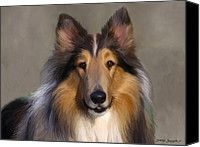 Lassie Come Home Painting by Snake Jagger - Lassie Come Home Fine Art Prints and Posters for Sale