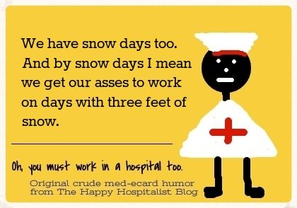 Heart Hospital Scrambles After All Cardiologists Call In Stuck After Snowstorm #Satire