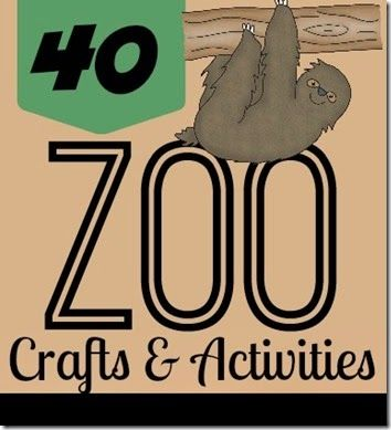 40 Zoo Animal Crafts & Activities (from 123 Homeschool 4 Me)