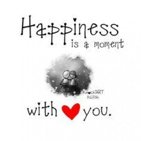 ?? Happiness is a moment with you?? #relationship