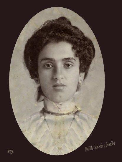 Matilde Calderon Y Gonzalez Madre De Frida Kahlo Fridasufrida