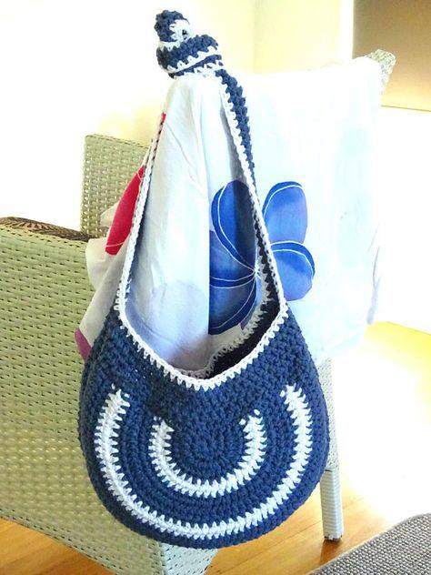 Crochet Bag Pattern Beach Bag Crochet Bag Tote Bag Crochet