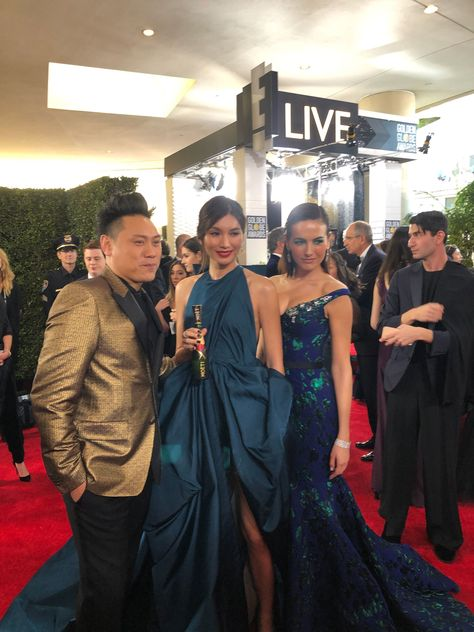 Crazy Rich Asians Star Gemma Chan Gets Ready for the Golden Globe Awards