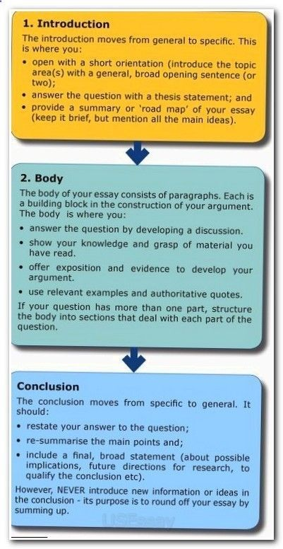essay writing introduction body conclusion