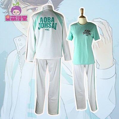 Anime Haikyuu! Aoba Johsai High School Oikawa Tooru Uniform Hoodie Sweatshirt