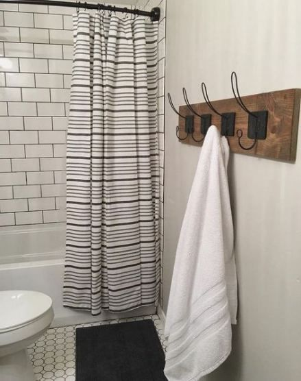 Pin By Marie Rewis On Bath In 2020 Farmhouse Shower Farmhouse