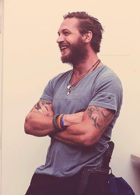 Tom Hardy - Even with a beard, he's hot.