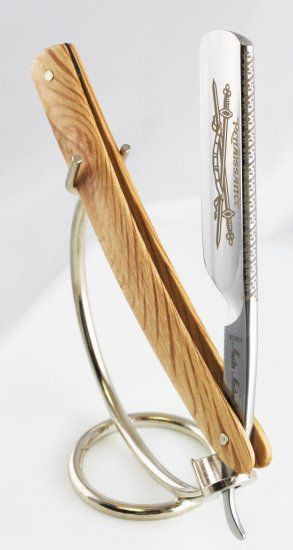 Dovo Straight Razor, every man should try one atleast once in his life. I would love to get this for my boyfriend eventually!