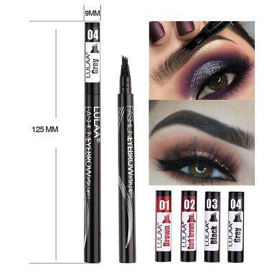 Microblading Tattoo Eyebrow Liquid Pen Waterproof 4fork Pencil