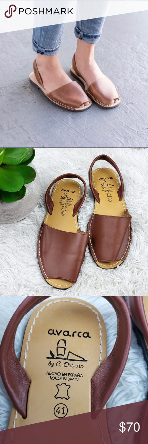 947167df99ef Pons Avarcas 11 Classic Leather Sandal Slingback I m selling these Pons by Avarcas  sandal