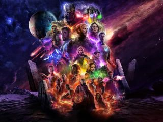 2732x2048 Avengers 4 Endgame 2019 Movie Keyart 2732x2048 Resolution Wallpaper, HD Movies 4K Wallpapers, Images, Photos and Background