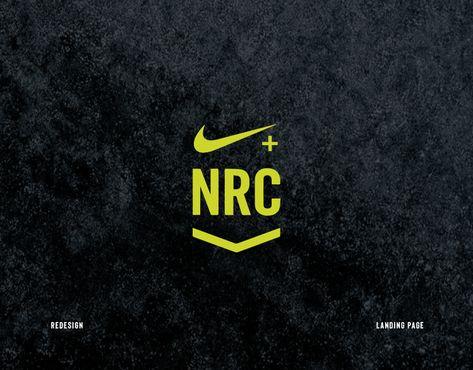 Nike Run Club App - Landing Page