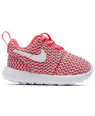 687466b31e412 Nike Toddler Girls  Roshe One Casual Sneakers from Finish Line - Finish Line  Athletic Shoes - Kids   Baby - Macy s
