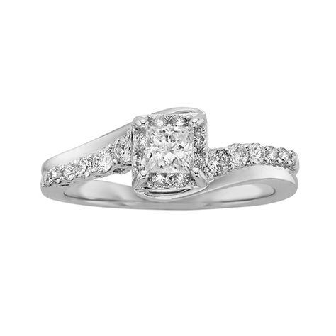 Awesome Ecoura Diamond Engagement Ring Wedding Style Pinterest Fred meyer Wedding styles and Engagement