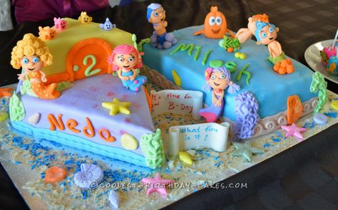 Cool Bubble Guppies Birthday Cake... Coolest Birthday Cake Ideas