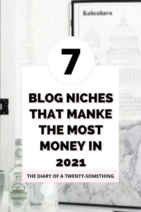 Top 7 most profitable blog niches to make money blogging in 2021