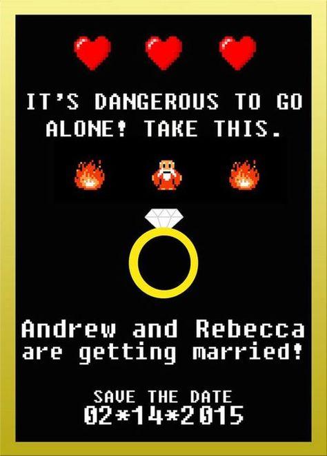 Gamer Wedding Ideas! — Ladies Geeking Out