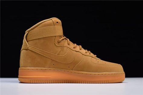 Nike Air Force 1 High Flax Wheat 882096 200 Sneaker Bar