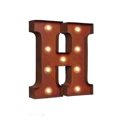 17 Stories Letter Led Marquee Sign Letter Retro Lighting Marquee Sign Letters Marquee Sign