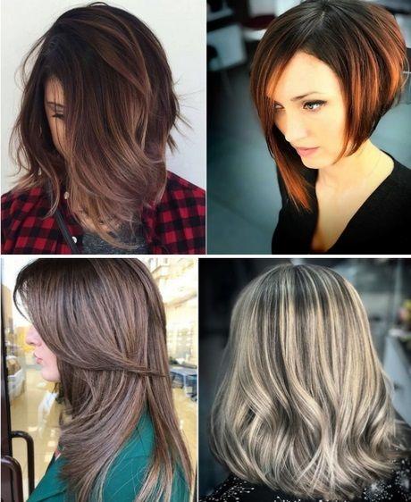 Frisurentrends 2019 Damen Modische Frisuren Frauen Frisuren Locken Kurzhaarfrisuren