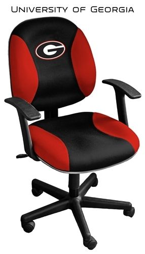 Georgia Bulldogs Managers Computer Chair Tc05 Geo By Wild Sports