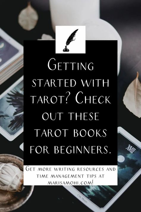 Interested in learning more about the tarot? Check out these tarot books for beginners to learn more! #tarot #intuition #tarotcards #tarotreading #tarotspread