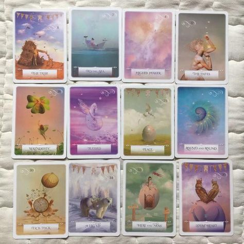 FREE SHIPPING. Wisdom Of The Oracle Oracle Card Deck Tarot cards or oracle cards are a form of divination, which literally means working with the divine, or your higher self, which is the ultimate purpose of cards, just like yoga.
