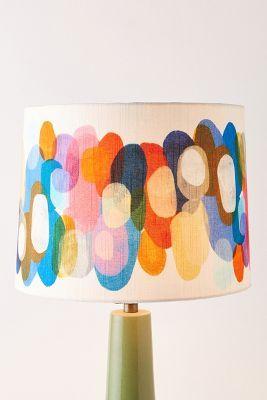 Claire Desjardins Kaleidoscope Lamp Shade In 2020 Claire Desjardins Lamp Shade Colorful Lamps
