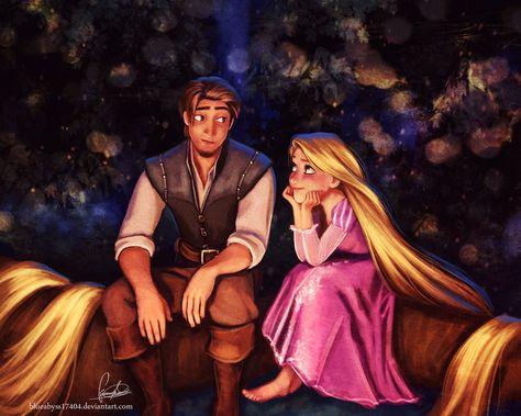 Flynn and Rapunzel Fan Art: Rapunzel and Flynn