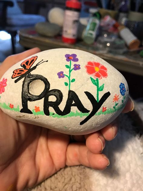 140 Christian Rocks Ideas Christian Rock Painted Rocks Rock Crafts