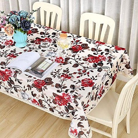 Gl G Pastoral Simplicity European Style Flower Tablecloth