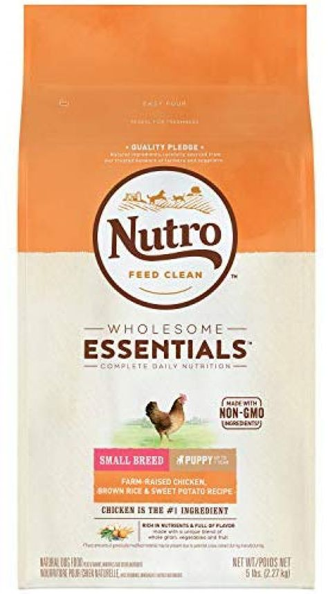 NUTRO Wholesome Essentials Puppy Dry Dog Food, All Breed Sizes Price: $14.96 #DogsTreats>>#CatsTreats>>>#DogsCollars#CatsCollars#Pets