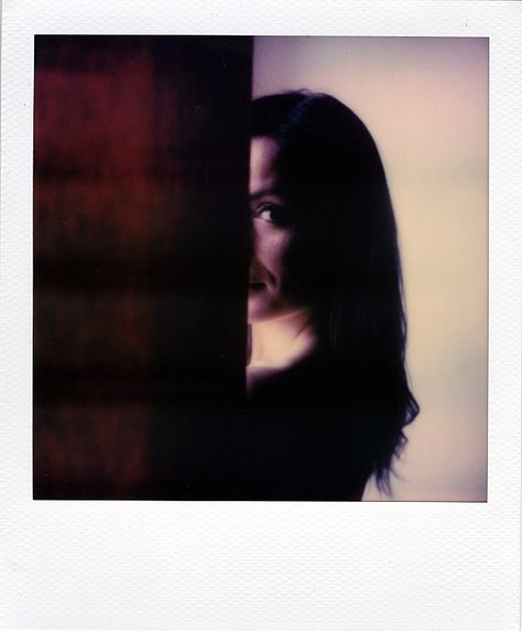 Keep an eye on you by Cyril Auvity, Photography, Polaroid, instant film