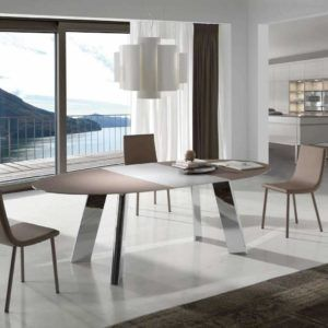 Mesas de comedor modernas extensibles o fijas - Muebles ...