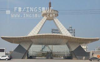 خربشات مهندس مخطط مدخل شركة Leeman تصميم صيني اوتوكاد Dwg