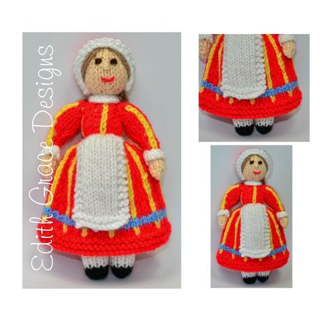 Danish Folk Doll Toy Knitting Pattern Doll Knitting Patterns